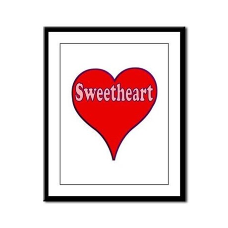Sweetheart Framed Panel Print