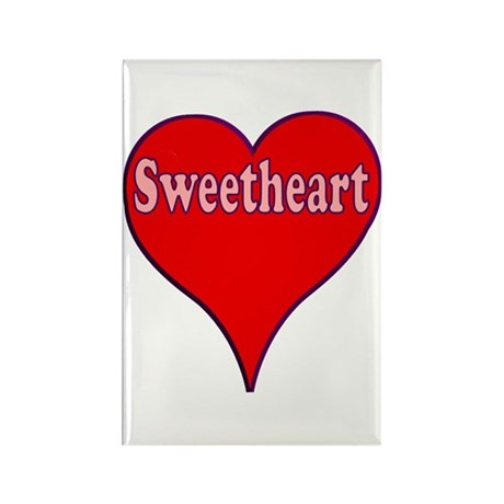Sweetheart Rectangle Magnet (10 pack)