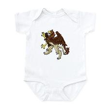 Heraldic Griffin Infant Bodysuit