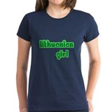 Lithuanian Girl Cute Tee