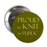 "2.25"" Proud to Knit Button (100 pack)"