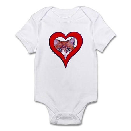 I love my cat Infant Bodysuit