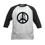 Peace & Doves Kids Baseball Jersey