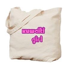 Kuwaiti Girl Cute Kuwait Tote Bag