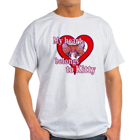 My heart belongs to kitty Light T-Shirt