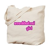 Kazakhstani Girl Cute Tote Bag