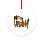 Texas Cowboy Keepsake (Round)