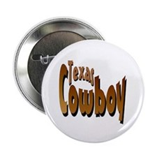 Texas Cowboy Button
