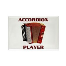 ACCORDION Rectangle Magnet