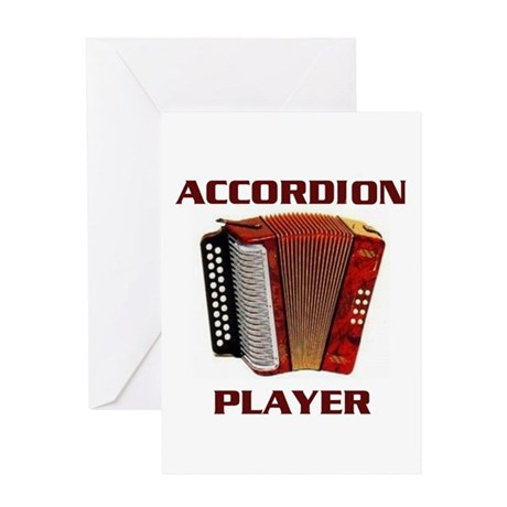 ACCORDION Greeting Card