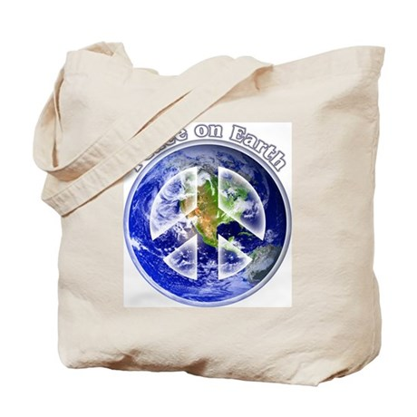 Peace on Earth II Tote Bag