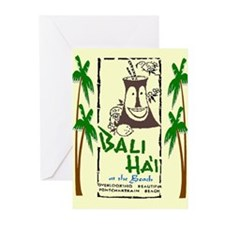 Bali Hai at the Beach Greeting Cards (Pk of 10)