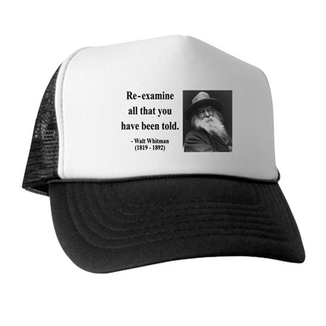 Walter Whitman 11 Trucker Hat