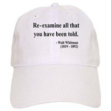 Walter Whitman 11 Baseball Cap
