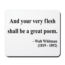 Walter Whitman 14 Mousepad