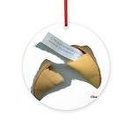 Good Fortune Cookie Keepsake (Round)