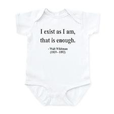 Walter Whitman 18 Infant Bodysuit