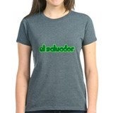 El Salvador Girl Cute Tee
