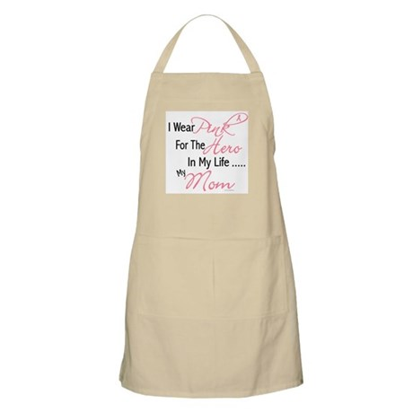 Pink For My Hero 1 (Mom) BBQ Apron