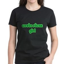 Costa Rican Girl Cute Tee