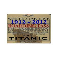 TITANIC Rectangle Magnet