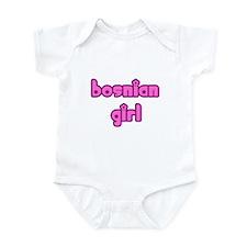 Bosnian Girl Cute Bosnia Infant Bodysuit