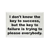 Cute Cosby quotation Rectangle Magnet (100 pack)