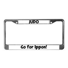 Cute Ippon License Plate Frame