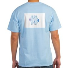 Abstract Water (front & back) T-Shirt