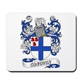 Conover Coat of Arms Mousepad