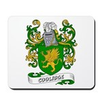 Coolidge Coat of Arms Mousepad