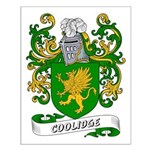 Coolidge Coat of Arms Small Poster