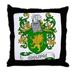 Coolidge Coat of Arms Throw Pillow