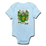 Coolidge Coat of Arms Infant Creeper