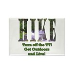 Go For A Hike Rectangle Magnet (10 pack)