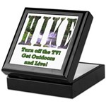 Go For A Hike Keepsake Box