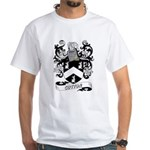 Cotton Coat of Arms White T-Shirt