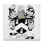Cotton Coat of Arms Tile Coaster