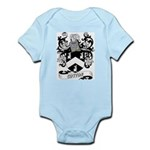 Cotton Coat of Arms Infant Creeper