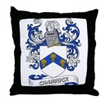 Craddock Coat of Arms Throw Pillow