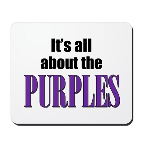 Purple Victory Mousepad