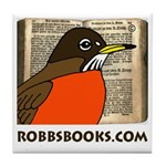 RobbsBooks.com Tile Coaster