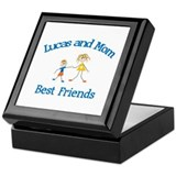 Lucas & Mom - Best Friends  Keepsake Box