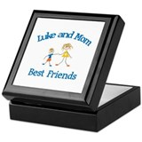 Luke & Mom - Best Friends  Keepsake Box