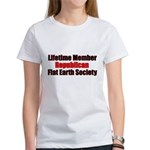 Lifetime Member: Republican F Women's T-Shirt