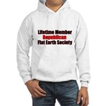 Lifetime Member: Republican F Hooded Sweatshirt