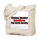 Lifetime Member: Republican F Tote Bag