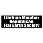 Lifetime Member: Republican F Bumper Sticker