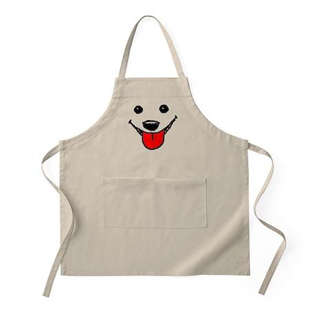 Happy Dog Face BBQ Apron
