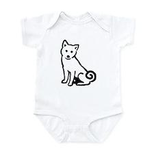 Shiba Sit Infant Bodysuit